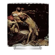 Samson Shower Curtain by Solomon Joseph Solomon