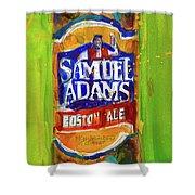 Samuel Adams Boston Ale Shower Curtain