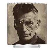 Samuel Beckett 1 Shower Curtain