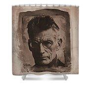 Samuel Beckett 01 Shower Curtain