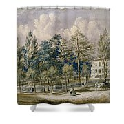 Samuel Fleet Homestead Shower Curtain