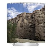 San Andreas Fault Shower Curtain