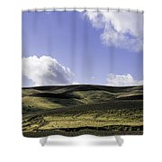 San Andreas Rift Zone Shower Curtain