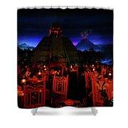San Angel Inn Mexico Shower Curtain