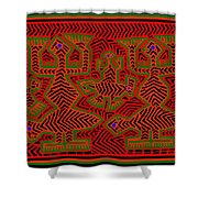 San Blas Shaman Spirits Shower Curtain