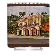 San Carlos Institute Shower Curtain
