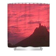 San Carlos Sunset Shower Curtain