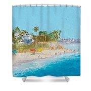 San Clemente Beach Shower Curtain