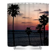San Clemente Shower Curtain by Ralf Kaiser