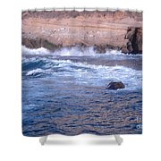 San Diego 9 Shower Curtain