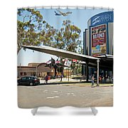San Diego Air And Space Museum Shower Curtain