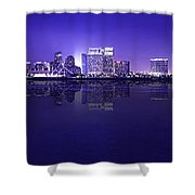 San Diego Cityscape Shower Curtain