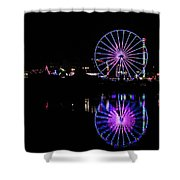 San Diego Fair Shower Curtain