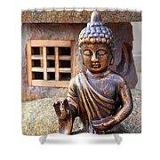 San Diego Mission De Acalca Shower Curtain