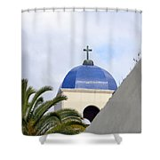 San Diego Oldtown Shower Curtain