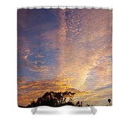 San Diego Sunsrise 1 7/12/15 Shower Curtain