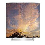 San Diego Sunsrise 3 7/12/15 Shower Curtain