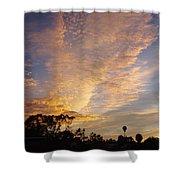 San Diego Sunsrise 4 7/12/15 Shower Curtain