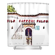 San Felice Circeo School Shower Curtain
