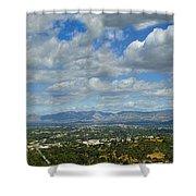 San Fernando Valley Panorama Shower Curtain
