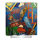 San Fran Shower Curtain