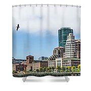 San Francisco Waterfront Shower Curtain