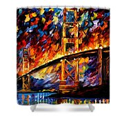 San Francisco - Golden Gate Shower Curtain