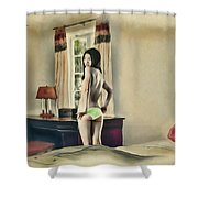 San Francisco - Asian American Series Shower Curtain