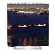 San Francisco At Night Shower Curtain