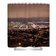 San Francisco At Night Shower Curtain