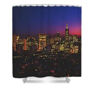 San Francisco At Sunset Shower Curtain