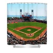 San Francisco Ballpark Shower Curtain