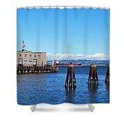 San Francisco Bay Trail View Shower Curtain
