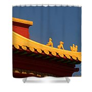 San Francisco California China Town Shower Curtain