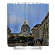 San Francisco City Hall Shower Curtain
