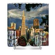 San Francisco Cliff Shower Curtain