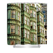San Francisco Color Shower Curtain