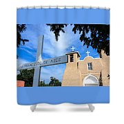 San Francisco De Asis Church Shower Curtain