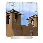 San Francisco De Asis Mission Bell Towers Shower Curtain
