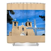 San Francisco De Asis Mission Church Shower Curtain