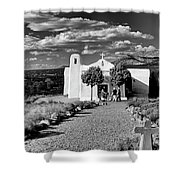 San Francisco De Assisi, Golden, New Mexico, March 11, 2017 Shower Curtain