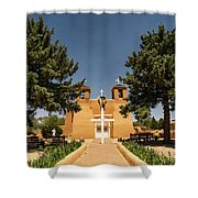 San Francisco De Assisi Mission Church Taos New Mexico 2 Shower Curtain