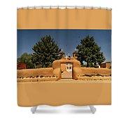 San Francisco De Assisi Mission Church Taos New Mexico Shower Curtain