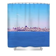 San Francisco Downtown Skyline Shower Curtain
