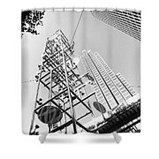 San Francisco Embacadero 2 Shower Curtain