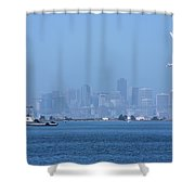 San Francisco From Alameda Shower Curtain