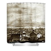 San Francisco, From Clay Street, 1855 Shower Curtain