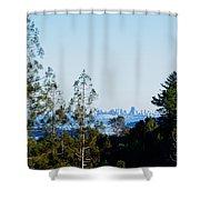 San Francisco From Mt. Tamalpais Shower Curtain