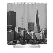 San Francisco From Treasure Island Shower Curtain