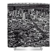 San Francisco From Twin Peaks Shower Curtain